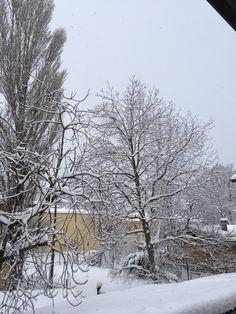 Snow, City, Outdoor, Outdoors, Cities, City Drawing, Outdoor Life, Garden, Human Eye