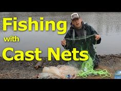 Catching bait with a cast net can be awesome. This video explains how to chose a cast net and how to use a cast net. For more information about fishing for c. Catfish And Carp, Catfish Bait, Catfish Fishing, Information About Fish, Cast Nets, Being Used, Get Started, It Cast, Learning