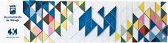 Tematización Stand Promálaga con materiales reciclados por #Dika. #estudio #studio #proyecto #project #promálaga #ayuntamiento #málaga #costadelsol #diseño #design #stand #3D #arquitectura #architecture #efímero #ephemeral #fleeting #cartelería #cartel #muro #wall #cartón #cardboard #geometría #geometry #personalizable #customizable #graphic #gráfico #material #reciclado #recycled #recycling #ecología #ecology #sostenibilidad #sustainability #tematización #panel #colorido #colorful