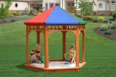 Wooden Sandbox | Kids Sandbox | Outdoor Sandbox : Outdoor Toys | Pedal Go Karts | Ride On Toys | Free Shipping!