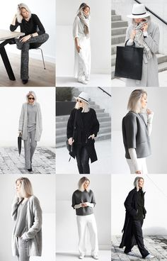 Minimal Fashion Blog on Mydubio - clean minimal style with a twist | @andwhatelse