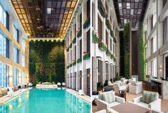 W Hotel in Guangzhou. doublespace architectural photography toronto montreal ottawa