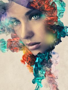 In today's #Photoshop Workbench #tutorial, we'll use custom ink brushes and layer masks to create this beautiful ink portrait effect.  http://www.msjphotography.com/index.php/2016/05/photoshop-workbench-526-ink-portrait-effect/