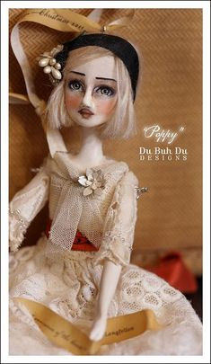 """Poppy"" Doll Ornament~Image © Christine Alvarado, 2011"