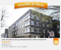 Super Kaptalanlage in Hannover List Gartenstadt Kreuzkampe, vermietete 2 Zimmer Wohnung mit solidem Mieter - aufgenommen und gepinnt vom Immobilienmakler in Hannover: arthax-immobilien.de