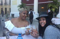 La reconocida cantante puertorriqueña La India, realizó un viaje a Cuba donde compartió con Haila María Mompié.