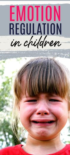 Emotional regulation is not something we are born with. Here is why it is important, how it's developed and how children can learn it. Self Regulation Strategies, Emotional Regulation, Emotional Development, Child Development, Parenting Websites, Parenting Books, Gentle Parenting, Parenting Advice, Motivation For Kids