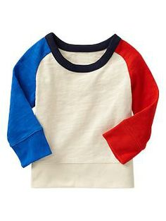 Paddington Bear™ for babyGap colorblock raglan pullover - A limited edition Paddington Bear™ collection for your newest little additions. Adventure awaits!