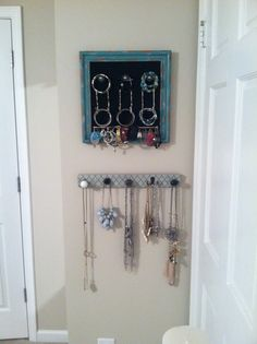wall mounted jewelry organizer Klutter Killer by kevinearle 6000