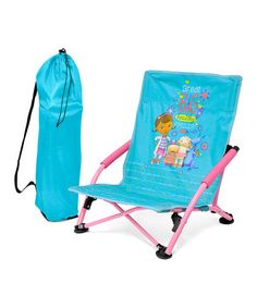 Another great find on #zulily! Doc Mcstuffins Folding Lounge Chair #zulilyfinds