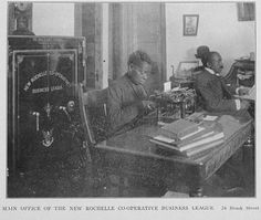 Main office of the New Rochelle Co-operative Business League. New Rochelle, New York Public Library, Maine, Work Spaces, Commonwealth, History, News, Gallery, Business