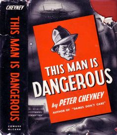 Pulp Art, This Man, Book Publishing, Thriller, Crime, Literature, Author, Gangsters, Hard Boiled