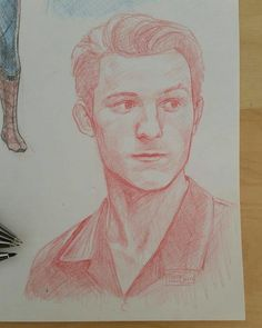 Just to clarify, this is NOT my art work. I only saved it to have a go at drawin. Beautiful Fantasy Art, Beautiful Drawings, Kunst Portfolio, Marvel Drawings, Cute Girl Drawing, Marvel Fan Art, Simple Cartoon, Cute Cartoon Wallpapers, Tom Holland