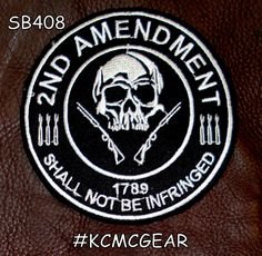 2nd Amendment PATCH Shall Not Be Infringed 1789 Patriot patch