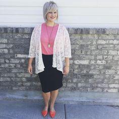 LulaRoe Cassie Skirt, LulaRoe Lindsay Kimono, LulaRoe Irma Top See this Instagram photo by @lularoetiffanyopthof • 18 likes