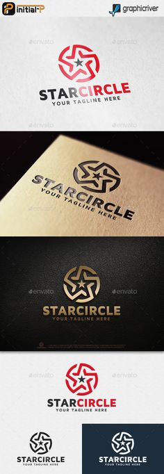 Star Circle Logo Template Vector EPS, AI Illustrator. Download here: https://graphicriver.net/item/star-circle-logo/17678649?ref=ksioks