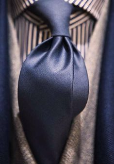 blue tie - men's fashion style