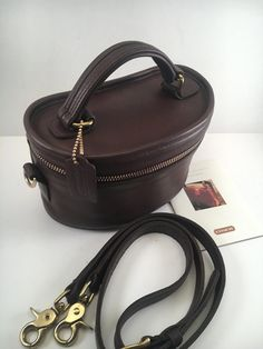 Coach Bag   Rare Coach Bag   Vintage Coach Bag   Coach Train Case   Coach 93110318f443b