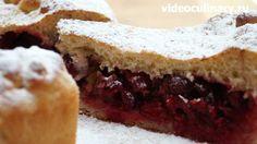 Пирог с вишней от videoculinary.ru