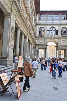 Street Artist - Florence, Italy