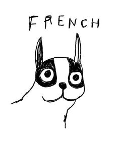 Frenchie - Stephen Davids...this print warms my heart!