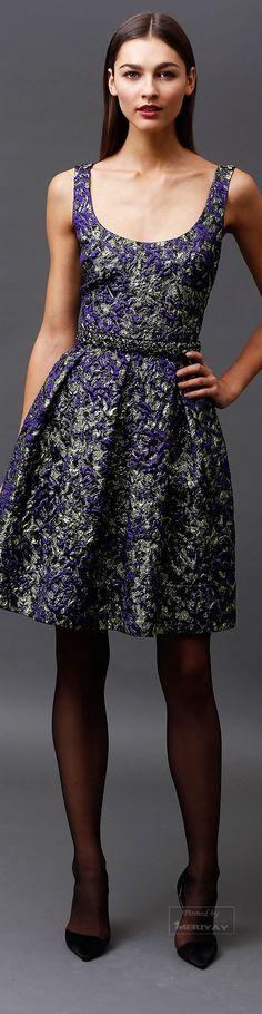 Badgley Mischka Pre-Fall 2015. Look Fashion, High Fashion, Fashion Show, Fashion Design, Couture Fashion, Runway Fashion, Fashion Trends, Fashion Inspiration, Pretty Dresses