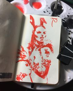 "1,179 Likes, 4 Comments - Kenneth Rocafort (@mitografia_kr) on Instagram: ""73 of 77 #mitografia #kennethrocafort #rocafort #art #artist #artjournal #drawing #draweveryday…"""