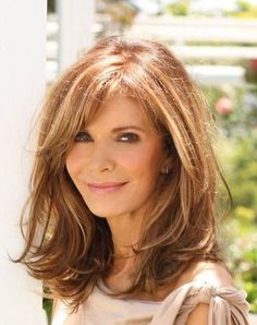 One of the best layered bob for older women styles is definitely the long bob style. Long bob is very chic, simple, yet elegant. Long bob is very. Layered Hair With Bangs, Medium Length Hair Cuts With Bangs, Medium Hair Styles For Women With Layers, Mid Length Hair Styles For Women Over 50, Shoulder Layered Hair, Red Hair Long Bob, Shoulder Length Hair Styles For Women, Long Hair Short Layers, Short Hair Cuts For Women With Bangs