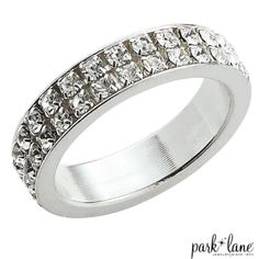 Swarovski Crystal Universal Band Ring