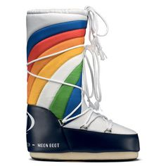 Rainbow Moon Boot White, $135, now featured on Fab.