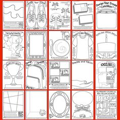 Art Enrichment Everyday SEPTEMBER provides 20 picture prompts PERFECT for back-to-school Zoom in to see ALL the possibilities☝️ ! Art Rubric, Art Prompts, Bts 2017, Elementary Art Lesson Plans, September Art, Art Sub Plans, Art Education Resources, Art Assignments, Dream School