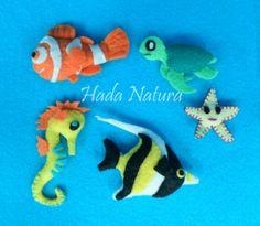 Animales marinos para decorar el nombre de Jesús. http://hadanatura.blogspot.com.es/2013/12/fondo-marino-para-jesus.html