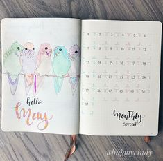 Facebook@Bullet Journal Beginners #Monthly#Monthlayout#