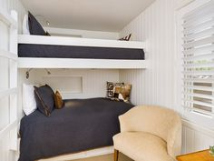 #Bedroom #inspiration #bunk beds. View more #luxuryhomes on homeadverts.com