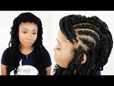 Mrs Rutters Perimeter Crochet Kinky Twists Step By Step Tutorial Part 3 of 8 - YouTube