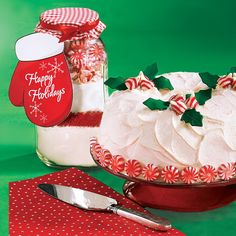 Candy Cane Bundt Cakes