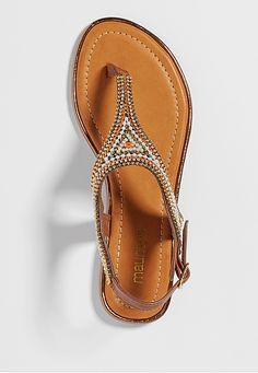 roxie beaded sandal - maurices.com