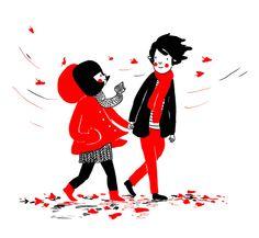 24 ilustrações mostram que o amor está nas pequenas coisas. Eu me identifiquei…