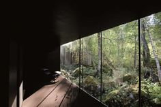 Manly nature room, mmm shades of green and brown, @ Juvet Landscape Hotel, from the Norwegian team at Jensen & Skodvin Architects.