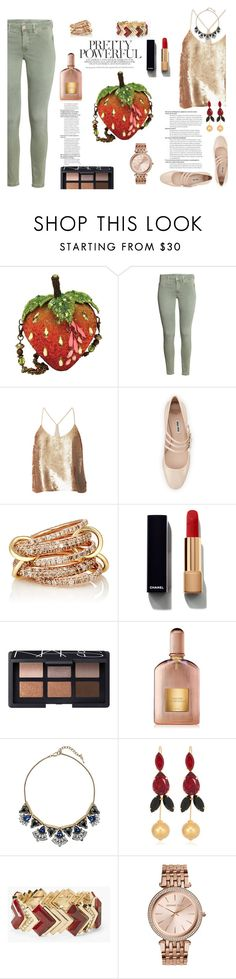 Clutches and Mary Jane by celeste-menezes on Polyvore featuring TIBI, Miu Miu, Mary Frances Accessories, MICHAEL Michael Kors, White House Black Market, SPINELLI KILCOLLIN, Marni, Chloe + Isabel, NARS Cosmetics and Chanel