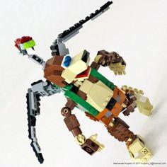 Lego Banjo and Kazooie!