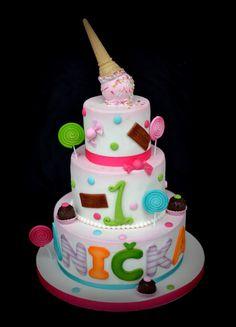 lollipop cake - Cake by majalaska