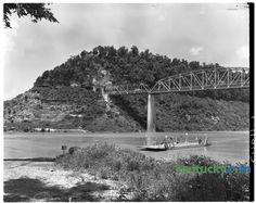 Burnside, Ky., before Lake Cumberland, 1950