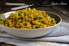 Cook Quinoa With Recipes Quick Recipes, Veggie Recipes, Healthy Recipes, Clean Eating Snacks, Healthy Eating, Salty Foods, Quinoa Rice, How To Cook Quinoa, Couscous