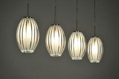 hanglamp 85639: modern, glas, wit opaalglas, kunststof, staal , rvs, rond, langwerpig ...