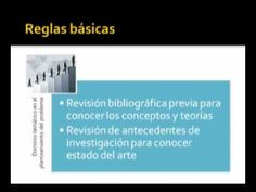 ¿Cómo plantear el problema de investigación y los objetivos en una tesis? Parte 1 - YouTube