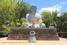 Kathy's Pictures - The Great Buddha - Lahaina Jodo Mission - Maui - Hawaii