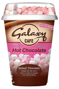 Galaxy Caffe Hot Chocolate with Marshmallows Galaxy Chocolate, Cadbury Chocolate, Melting Chocolate, Hot Chocolate, Yummy Treats, Delicious Desserts, Yummy Food, 13 Birthday Cake, Sour Candy