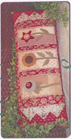 Primitive Folk Art Quilt Pattern  Snippets of by PrimitiveQuilting, $9.00