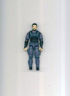 Vtg 1991 G.I.Joe ARAH COBRA LOW LIGHT Grey Variant Action Figure #Hasbro